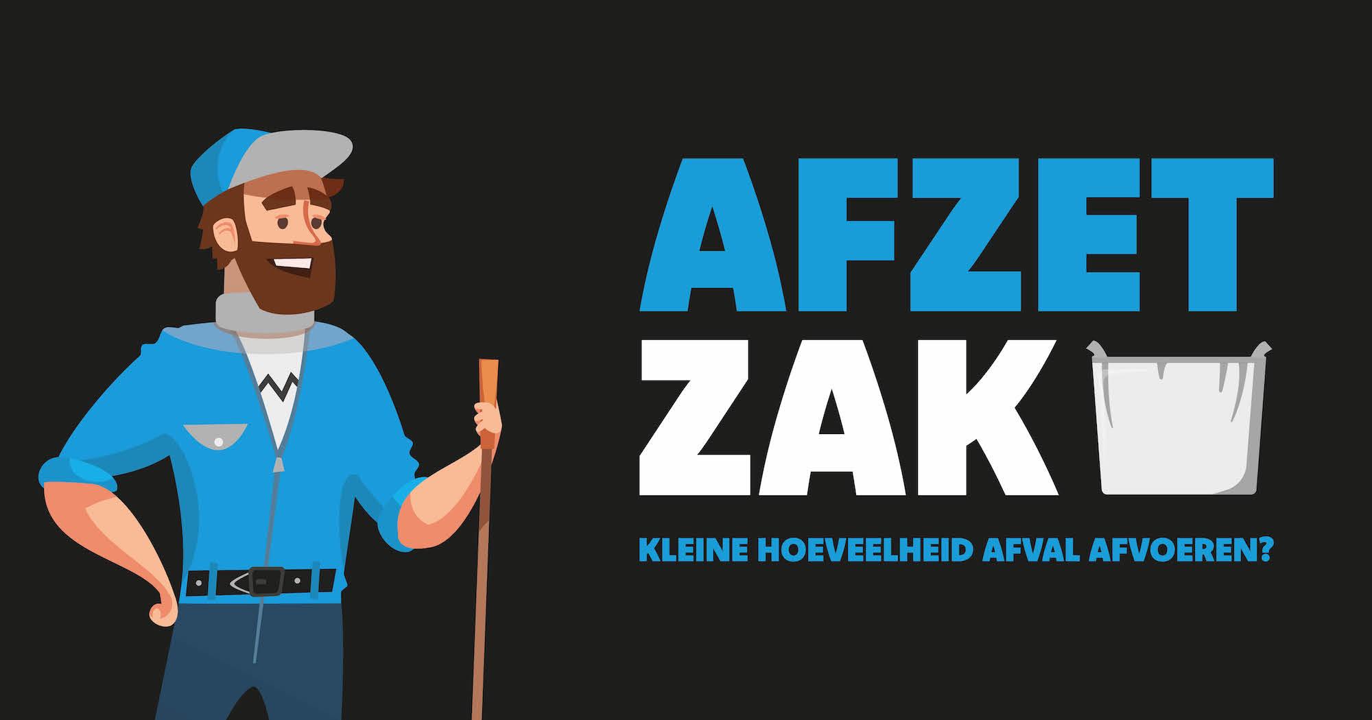 Afzetzak - GoedkopeAfvalcontainerHuren.nl