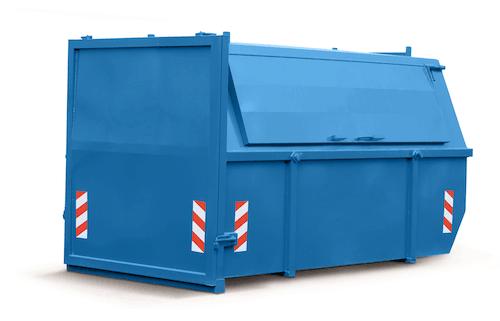 Papier/karton 10m³ (gesloten) container